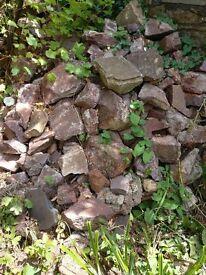 Garden stone for walls / rockery / gabions approx 6 tonnes