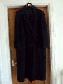 Womens Navy Winter Coat