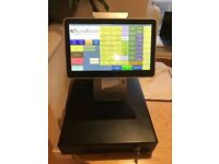 Top of the range Epos touch screen with built in printer