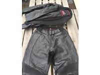 Hein Gericke ladies leather motorcycle suite