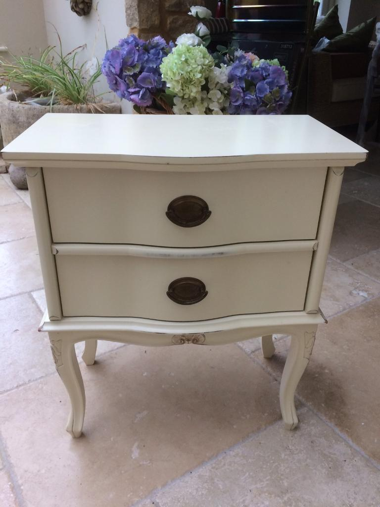 Laura Ashley Lille Range Bedroom Bedside Table
