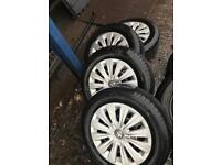 Vw golf good tyres and wheels