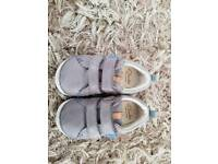 Clarks baby first shoes 4F