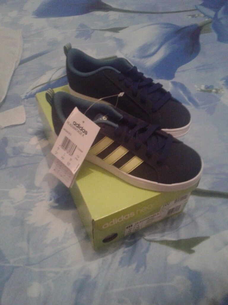 Boys size 1 adidas trainers