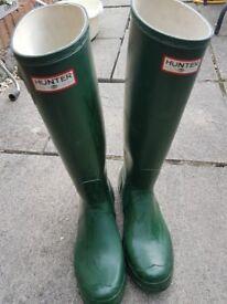 Mens Original Hunter Wellies size 8