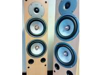 Gale 4040 floor standing speakers 120 w