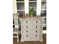 Wooden chest Free Delivery Ldn🇬🇧shabby chic rustic farmhouse