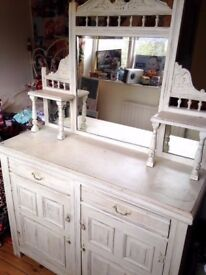 Solid wood dresser / sideboard £100 ono