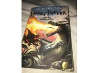 Harry Potter book The Goblet of Fire