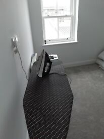 Tefal iron and Russel Hobbs ironing board