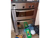 BOSCH electric double oven built in