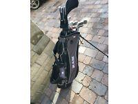 RAM FX Max Golf Set, Driver, 3 Wood, 4+5 Hybrids, 6-SW Irons