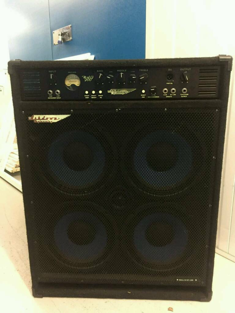 Ashdown 4x10 400Watt Bass Amp (Combo)
