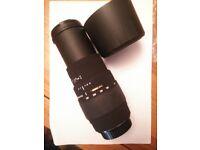 Sigma APO 70-300 F4-5.6 Macro lens