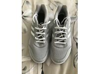 Ladies adidas grey trainers size 6