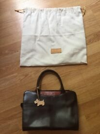 Radley handbag, brown leather, used but still in great condition