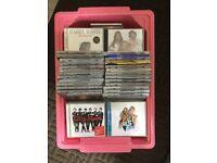 Box of mixed cd's