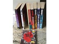 Various children/teen books (eight of).