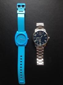 2 new Nixon watches