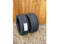2 x New Continental Premium Contact 2 ContiSeal 225.50 R17 98 H XL Extra Load Tyre