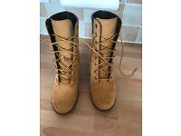 Women's timberland boots size 8
