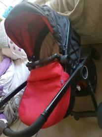 Chicco urban travel system pushchair