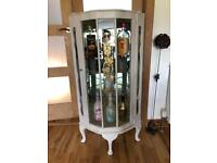 Upcycled display cabinet all original features
