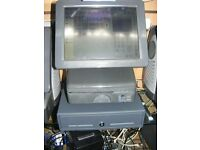 panasonic epos system with new touch screen full software & cash drawer pub bar cafe shop retail