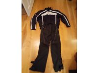 Hein Gericke Textile Motor Cycle Jacket, Trousers.