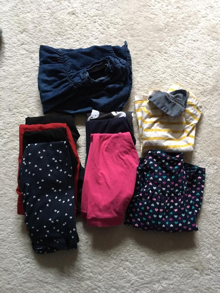 Bundle of girl's clothes 3-4 years