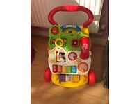 Vtech first steps baby walker excellent condition