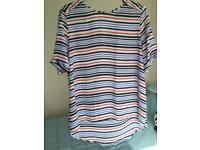 Size 16 stripe top