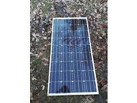 Solar panel for caravan, motorhome or boat