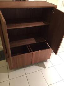 Ikea Stockholm Cabinet with 2 drawers
