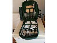 """Insulated """"Picnic At Ascot"""" Backpack"""