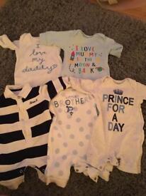 Baby boy Newborn debenhams bundle