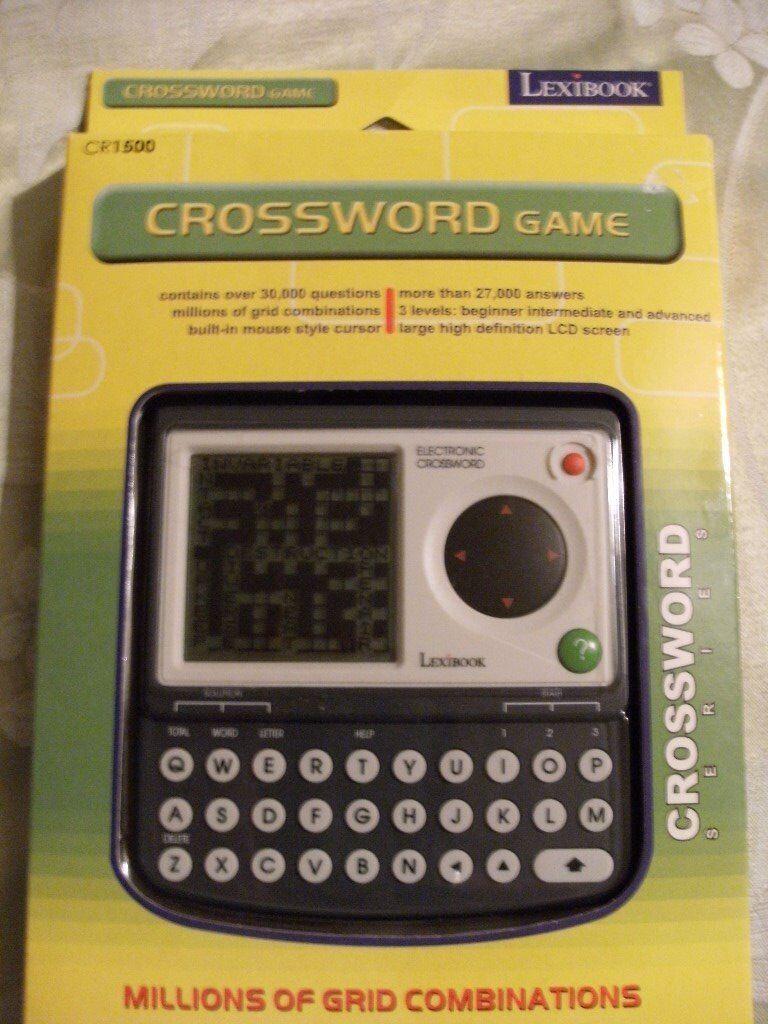 LEXIBOOK CROSSWORD GAME (Brand New & Boxed)