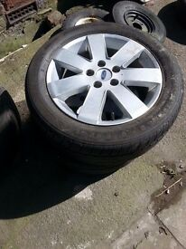 Ford Wheels and Tyres x 2 205/55/16