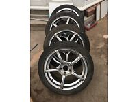 """17"""" Alloy Wheels 5x110. Going For CHEAP!!! (Fits VW, Vauxhall, Saab and Alfa Romeo)."""