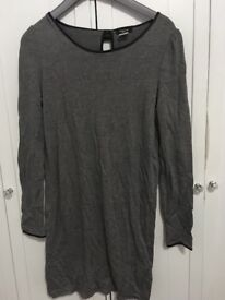 Women's gray top
