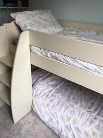 Mid sleeper bed frame from Fultons