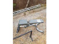 bodymax adjustable weight bench
