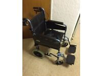 Collapsible Wheel Chair in very good clean condition