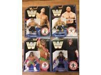 WWF Mattel Retro MOC Figures