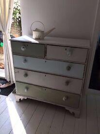 Fabulous upcycled vintage drawers/dresser