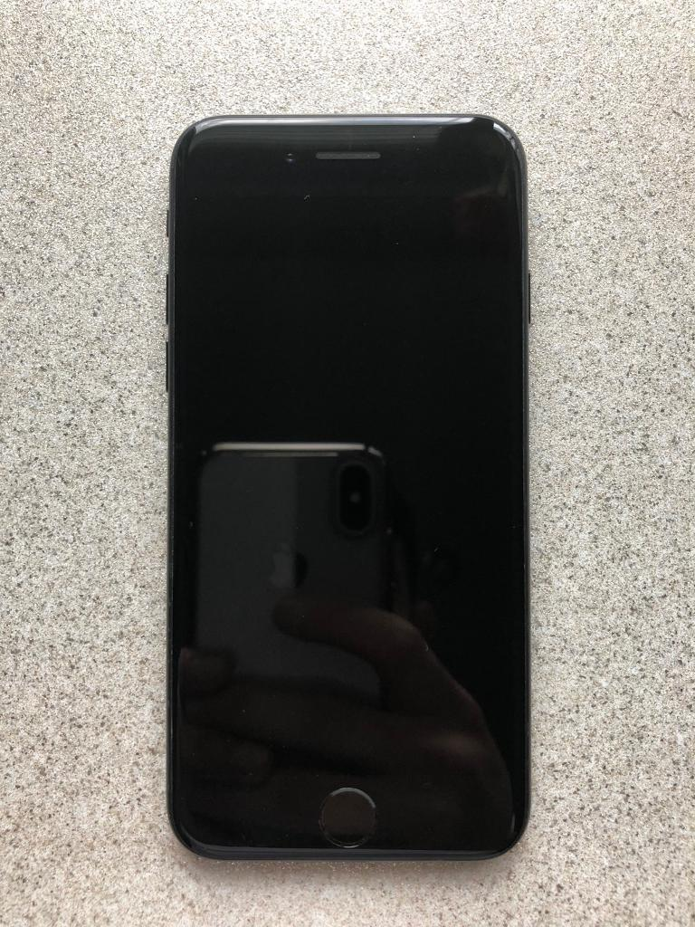 iPhone 7 256gb, unlocked, Matt black