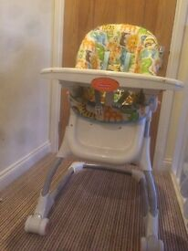 Fisher Price Easy-Clean High Chair