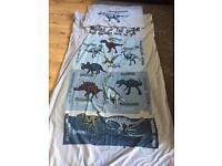 Next dinosaur single duvet cover