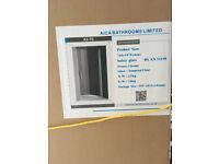 760-735mm Frameless Pivot Shower Door 6mm Safety Glass Reversible Shower Cubicle Door