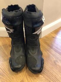 Alpine star motorbike boots
